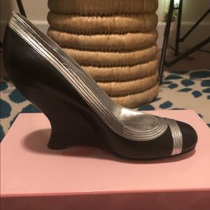 New In Box JLO wedge 4 inch heel shoe
